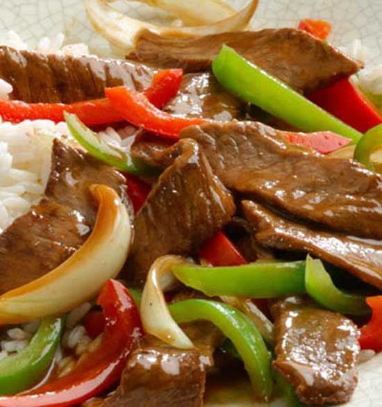 Ginger Pepper Steak