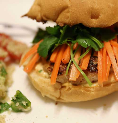 Recipe for Banh Mi with Lemongrass Pork