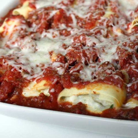 Recipe for Parmesan Chicken Manicotti