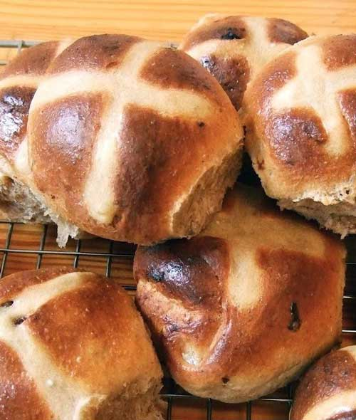 Recipe for The Best Hot Cross Buns