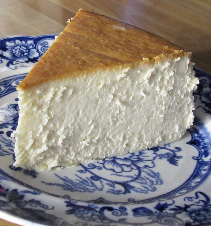 Recipe for New York Cheesecake