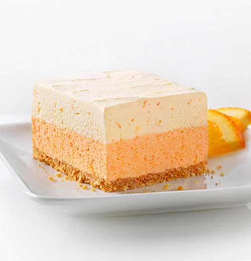 Recipe for Orange Dream Layered Squares