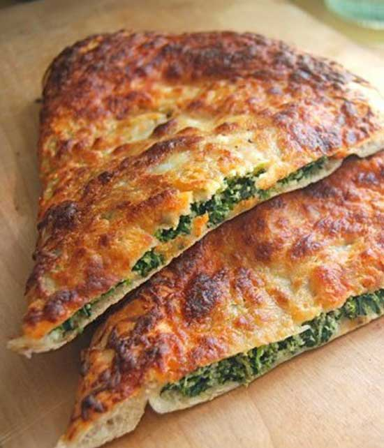 Recipe for Spinach Ricotta Calzone
