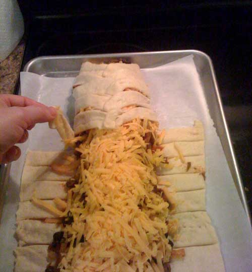 Recipe for Taco Braid