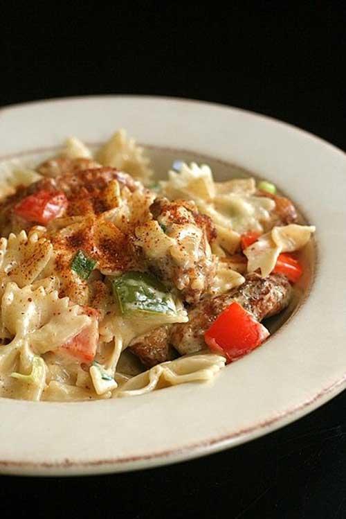 Recipe for Louisiana Chicken Pasta