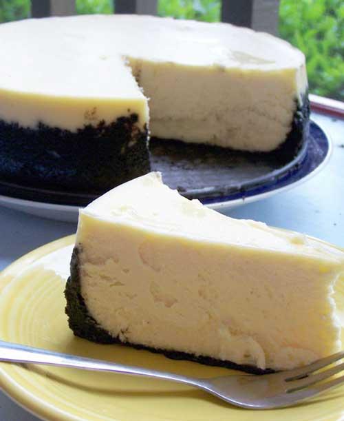Recipe for Cheesecake Supreme