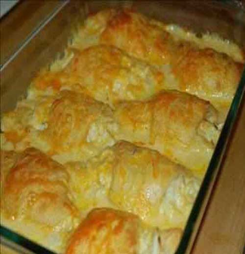 Recipe for Chicken Crescent Roll Casserole