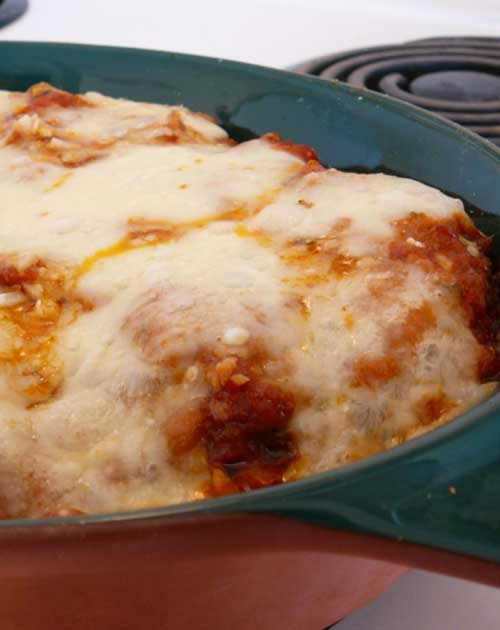 Recipe for Classic Eggplant Parmigiana