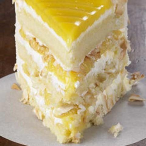 Recipe for Lemon Coconut Cake