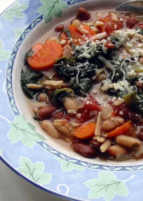 Recipe for Slow Cooker Minestrone