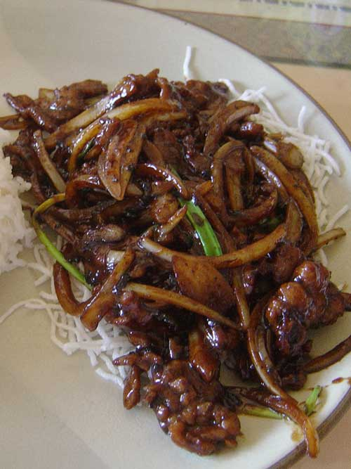 Recipe for Mongolian Beef