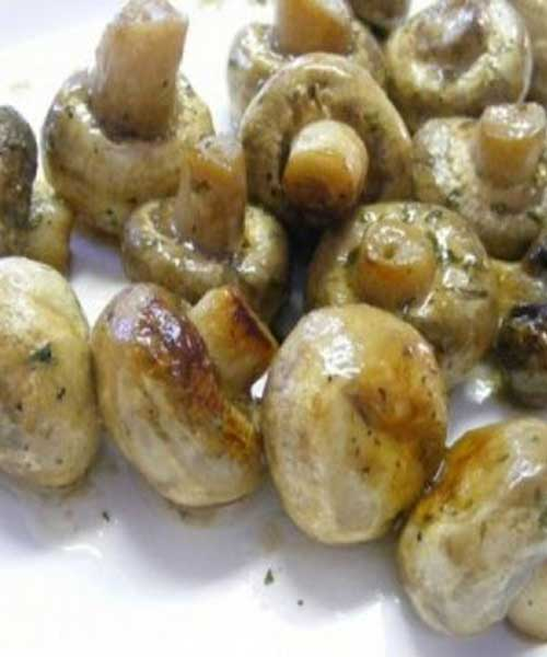 Recipe for CrockPot Ranch Mushrooms