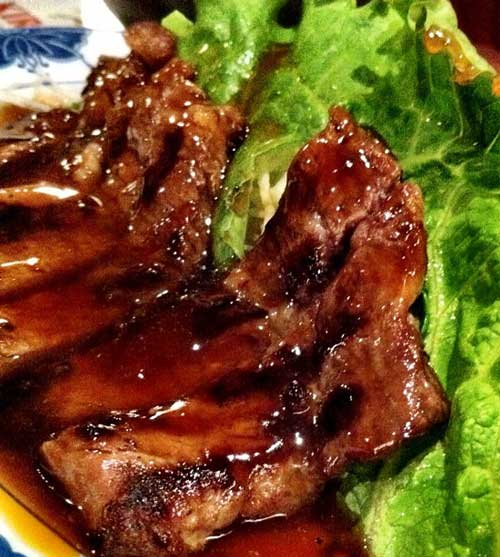 Low Carb Teriyaki Beef