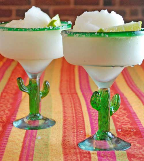 Recipe for Frozen Margaritas - From the start, this margarita proved addictive and led to shenanigans. It tasted so good going down, it was easy to overdo it.