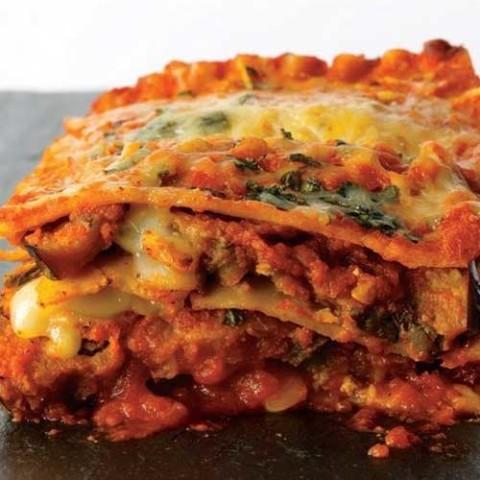 Recipe for Eggplant Parmesan Lasagna - Eggplant Parmesan Lasagna with layers and layers of wonderful flavor!
