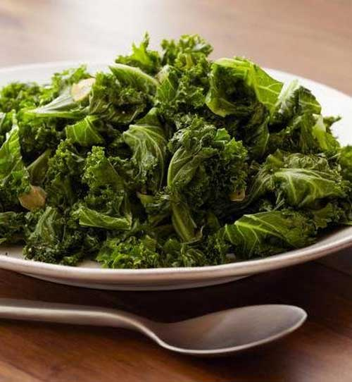 Recipe for Sauteed Kale - This sauteed kale is a delicious way to enjoy fresh kale. It's nutritious, delicious, and super easy to prepare!