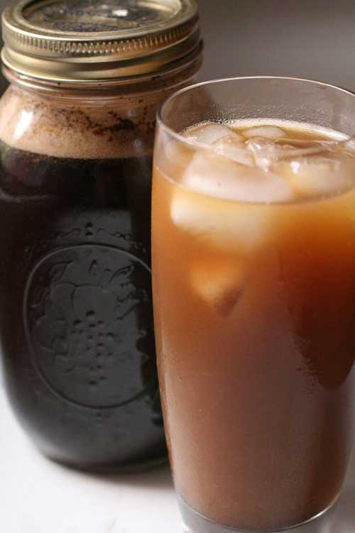 Cold-Brewed Iced Coffee