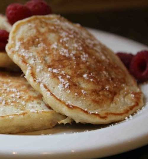 Recipe for Oatmeal Pancakes - These pancakes were beyond exceptional. I wasn't the only one who thought so. After helping me make them, both boys polished off 5 pancakes each!