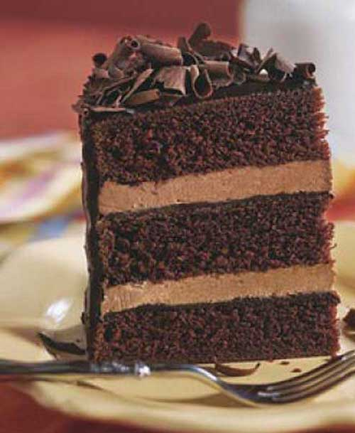 Recipe for Chocolate Cake with Whipped Cream Frosting - Here is a simple and easy to prepare chocolate cake recipe that uses two favorite foods: chocolate cake and chocolate whipped cream frosting.