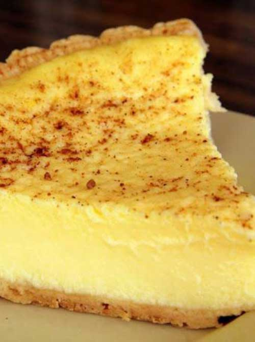 Old Fashioned Custard Pie Flavorite