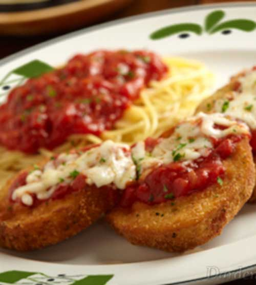 chicken parmesan recipe like the olive garden