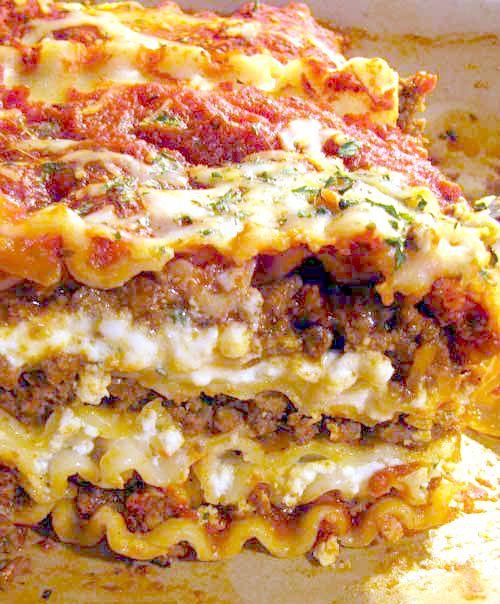 Eggplant Parmesan (Lasagna Style) Recipe — Dishmaps