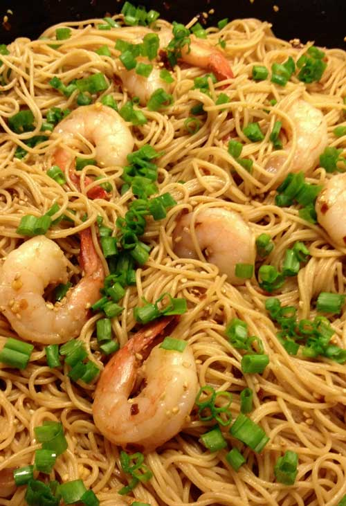 Sesame Asian Noodles