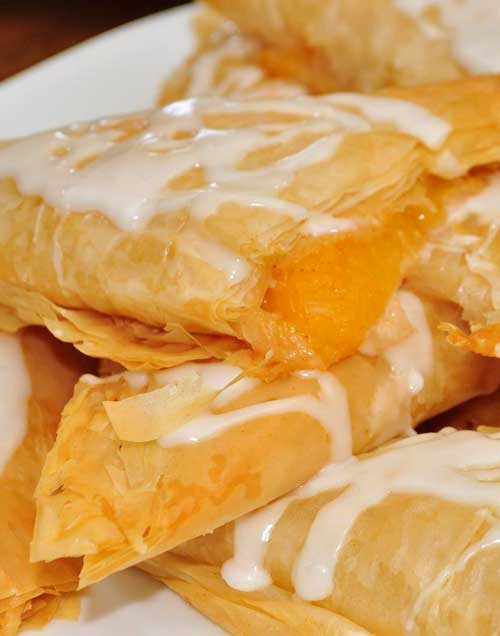 peach turnovers peach turnovers with crescent quick and easy peach ...