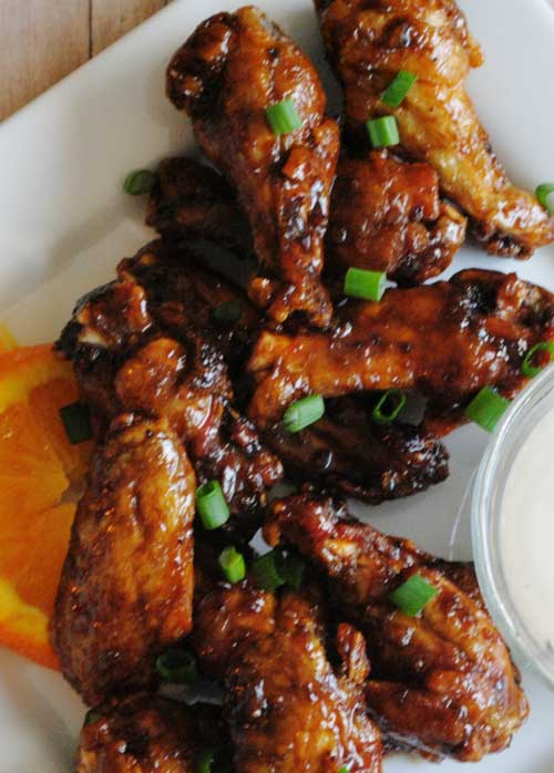 Game Day Hot Chicken Wings