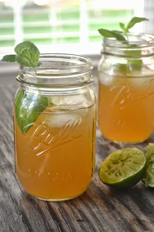 Recipe for Apple Cider Mojito - A super-quick way to spruce up a get-together or just make an ordinary meal a little more festive.