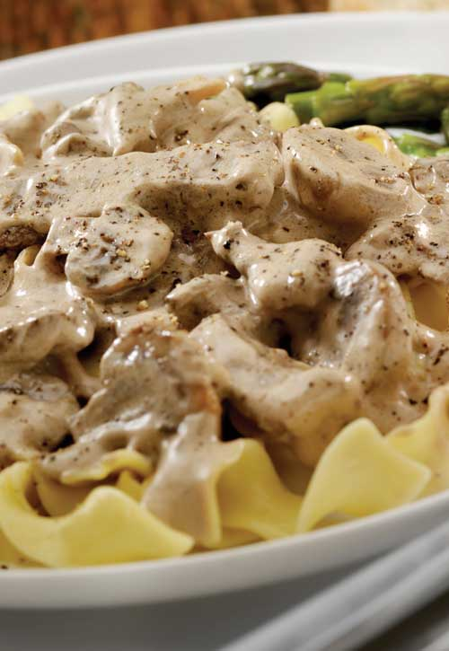 Recipe for Slow Cooker Beef Stroganoff - Using the magic that is a slow cooker, you can have this special dish any night of the week!