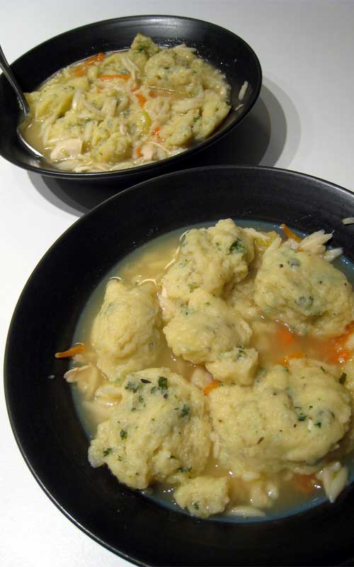 Recipe for Crock Pot Chicken and Dumplings -  Everyone loves chicken and dumplings but sometimes you just don't have the time to make it from scratch.  This crock pot version allows you to enjoy this comfort food stress-free.