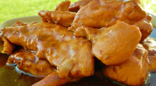 Recipe for Crockpot BBQ Chicken - Another great recipe in my collection of family favorite crockpot dinners. It's been pretty eventful around here. So the easier the dinner, the better.