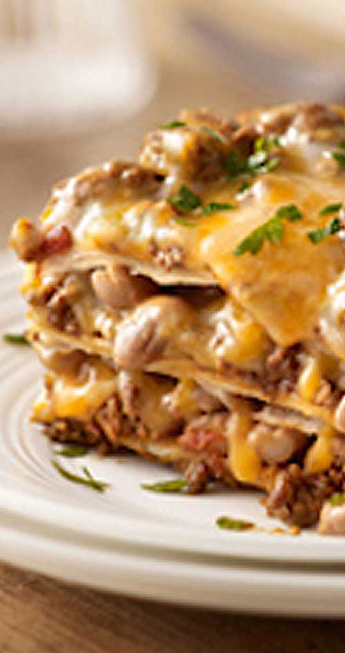 Recipe for Our Favorite Mexican-Style Lasagna - Create a little fusion ...