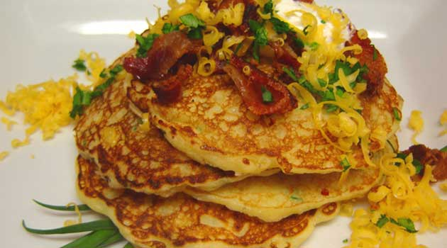 Recipe for Copycat Perkins Potato Pancakes - If you've never tried potato pancakes from Perkins or any restaurant, now's the time. This is a tasty, classic breakfast recipe that doesn't necessarily have to be for breakfast.