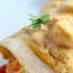 Creamy Cajun Shrimp Enchiladas