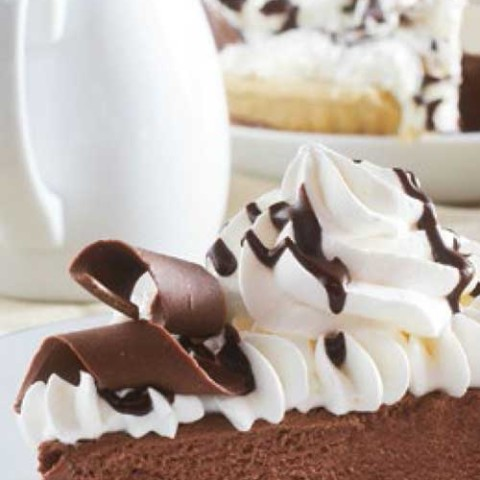 Recipe for Classic French Silk Pie - A pie shop classic that's easily made at home. Give it a try with this easy-to-follow recipe!