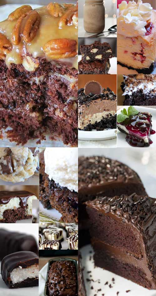 Who doesn't love themselves a treat made from chocolate? We have gone through our archives and gathered our 20 most popular recipes, containing the most popular flavor on the planet; CHOCOLATE!