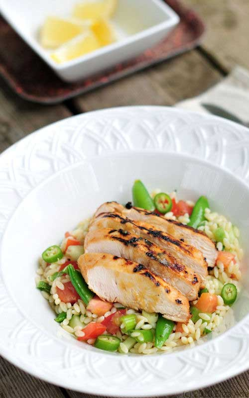 Honey Citrus Chicken