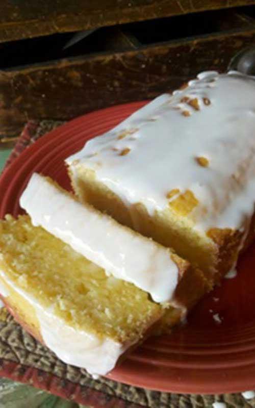 Copycat Starbucks Lemon Pound Cake
