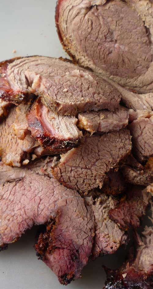Recipe for Smoked Brisket With Chipotle Rub - It may take a bit to cook, and is generally considered the most difficult cut to conquer. But when done right, this brisket could be the best bite of your life.