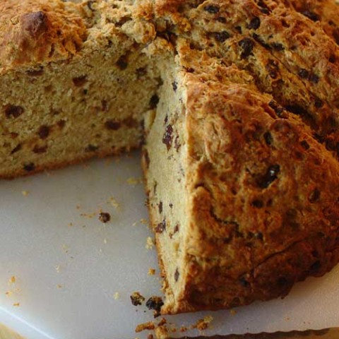 Recipe for Irish Soda Bread - Whether or not you're Irish, this classic quick bread recipe brings great taste into your kitchen.
