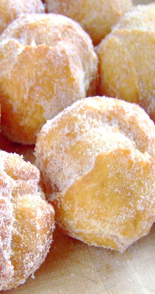 Recipe for Hawaiian Doughnuts - Malasadas - Malasadas are one of the all time favorite snacks. If you make these, prepare to rapidly become more popular with all of your friends.