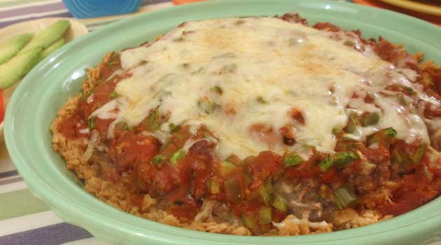 Recipe for Tex-Mex Bake - Looking for a delicious, quick-to-fix meal? Our recipe for Tex-Mex Bake fits the bill. It's filling (with great Tex-Mex flavor), easy to make, and it can feed a lot of people.