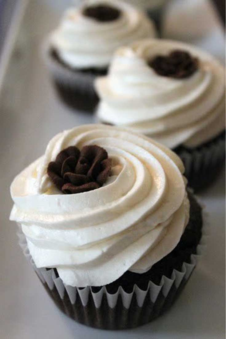 Melt in your Mouth Chocolate Cupcakes