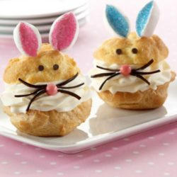 Recipe for Bunny Cream Puffs