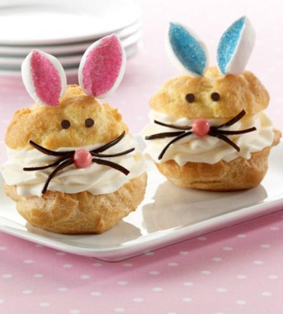 Recipe for Bunny Cream Puffs