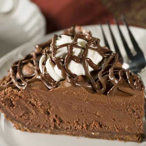 Recipe for Chocolate Lovers Chocolate Mousse Pie