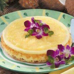 Recipe for Hawaiian Cheesecake