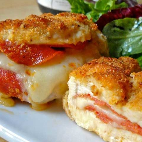 If you love pizza, these pizza stuffed chicken breasts are going to knock your socks off!!!